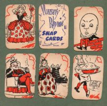 Collectable Vintage Cards game Nursery Rhymes